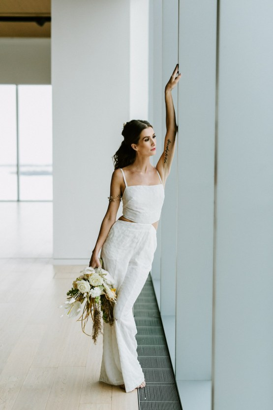 Chic Fall Loft Wedding Inspiration from Toronto – Shannon Robbins Photography – June Bloom Events 48