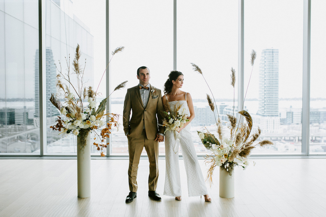 Chic Fall Loft Wedding Inspiration from Toronto – Shannon Robbins Photography – June Bloom Events 9