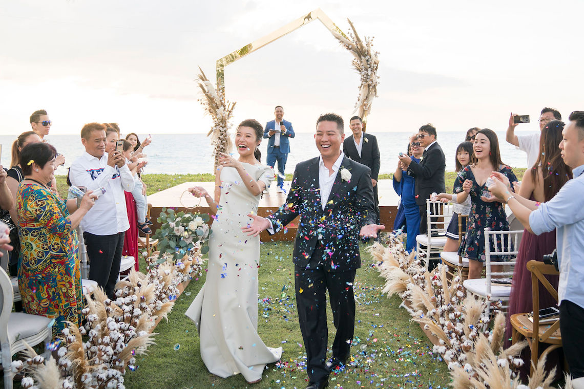 Elegant Architectural Thailand Beach Wedding – The Wedding Bliss – darinimages 3