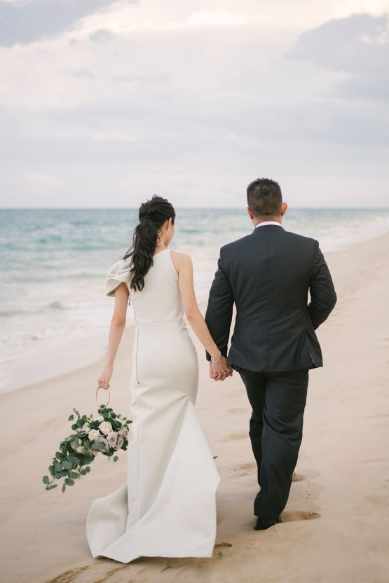 Elegant Architectural Thailand Beach Wedding – The Wedding Bliss – darinimages 38