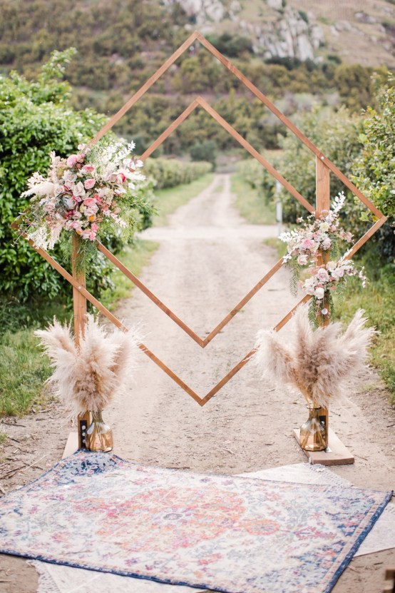 Pink Boho Farm Wedding Inspiration filled with Pretty Details – Carrie McCluskey Photo 1