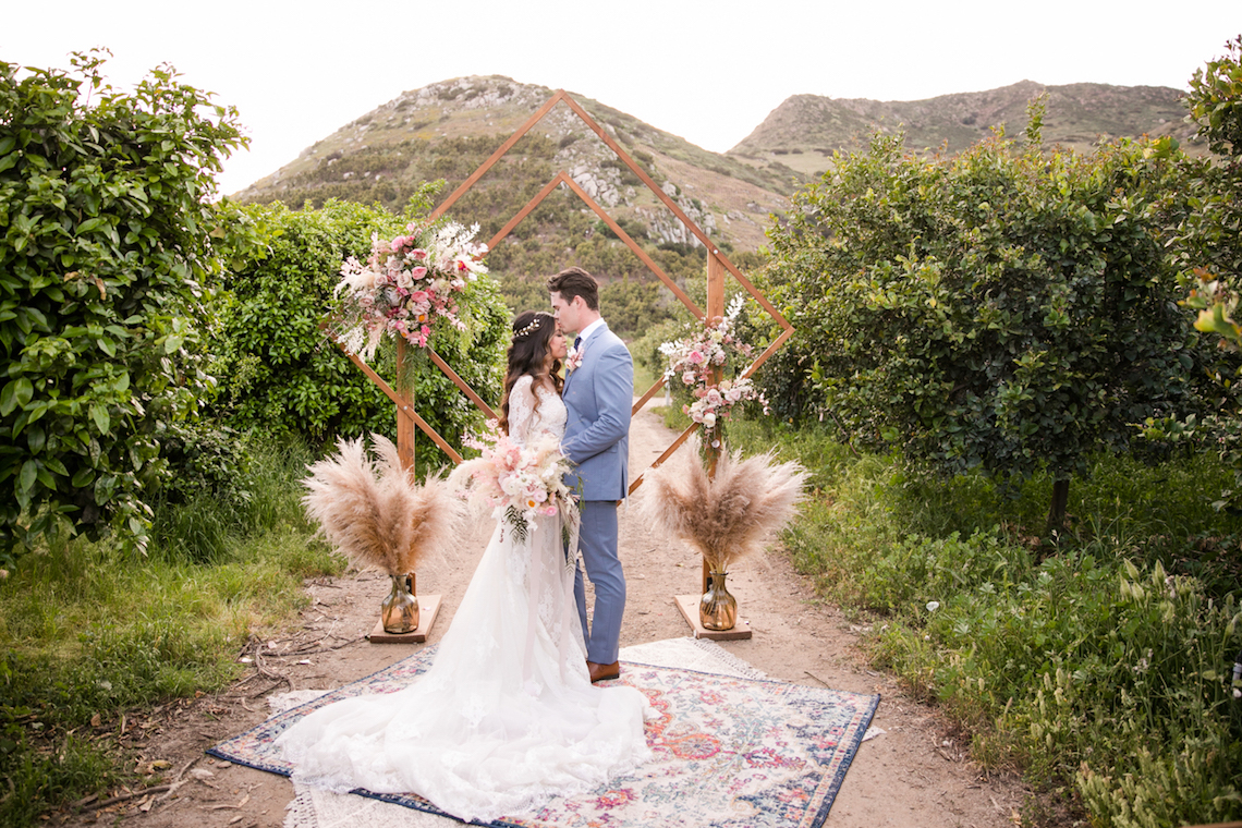Pink Boho Farm Wedding Inspiration filled with Pretty Details – Carrie McCluskey Photo 36