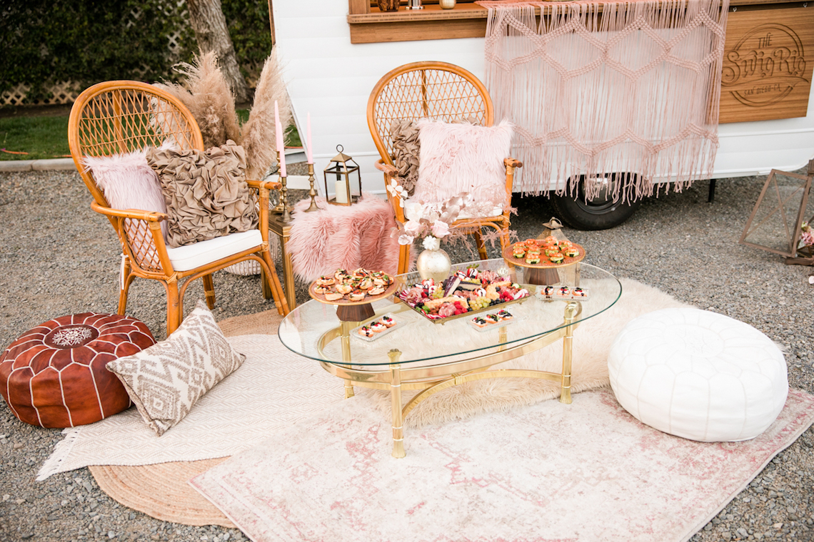 Pink Boho Farm Wedding Inspiration filled with Pretty Details – Carrie McCluskey Photo 42
