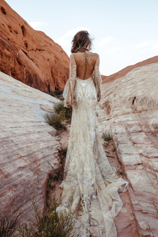 Rue de Seine Moonrise Canyon Wedding Dress Collection – Dolly Gown 5