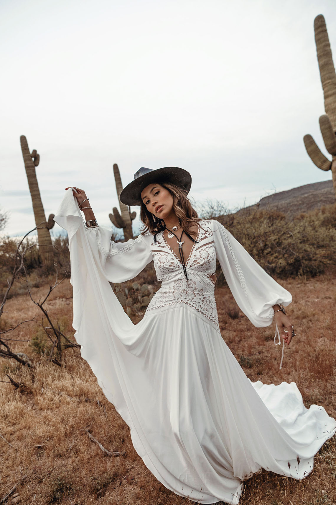 Rue de Seine Moonrise Canyon Wedding Dress Collection – Presley Gown 4