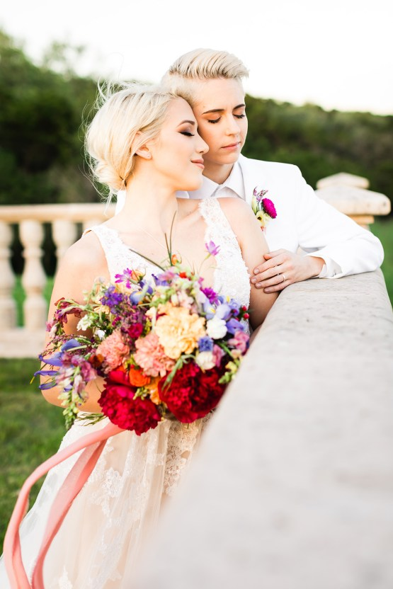 Same Sex Spanish Inspired San Antonio Wedding Inspiration – Xiaoqi Li Photography 36