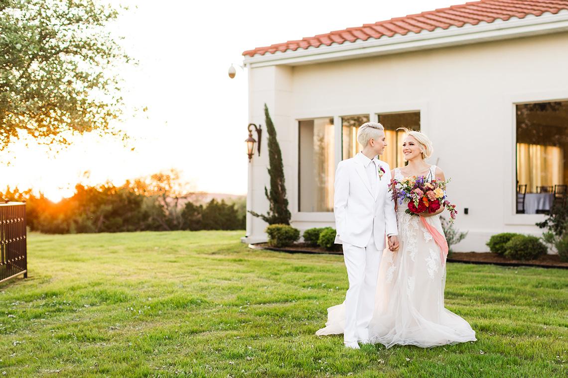 Same Sex Spanish Inspired San Antonio Wedding Inspiration – Xiaoqi Li Photography 7