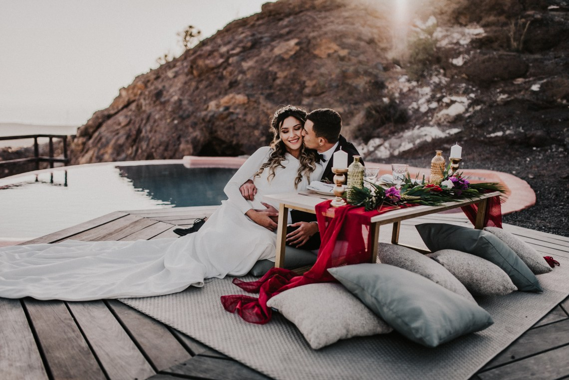 Secluded Gran Canaria Elopement with Panoramic Views – Weddings and Events by Natalia Ortiz – El Momento Perfecto 3