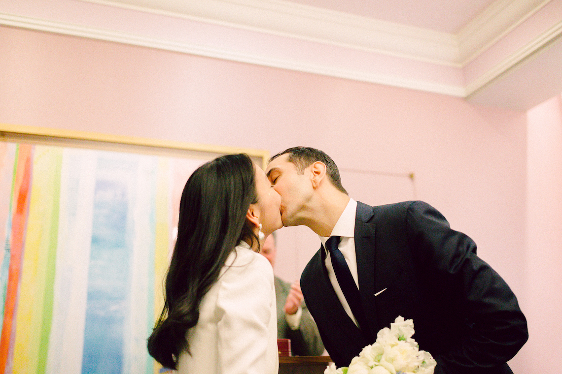 NYC marriage bureau wedding