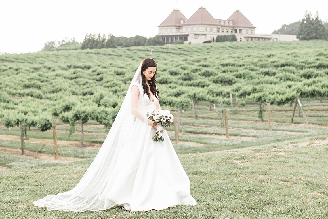 Upscale Southern Black-Tie Winery Wedding – Lindsey LaRue 4