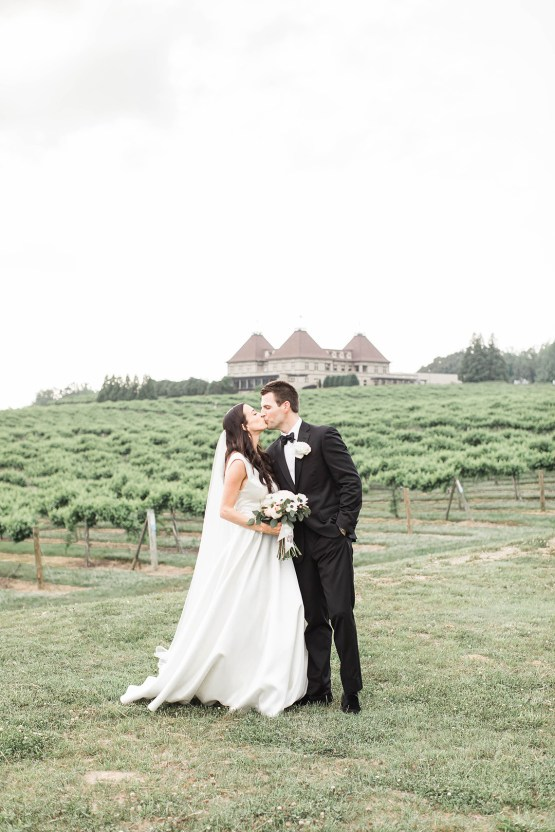 Upscale Southern Black-Tie Winery Wedding – Lindsey LaRue 41