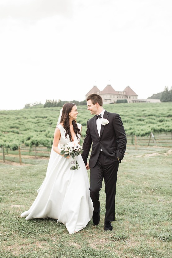 Upscale Southern Black-Tie Winery Wedding – Lindsey LaRue 42