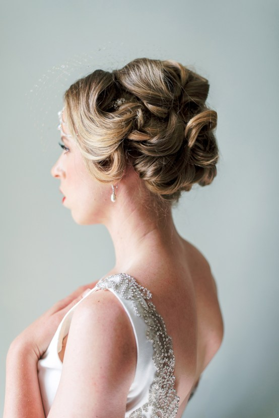 Glamorous Downton Abbey Wedding Inspiration – Cooper Photography 12