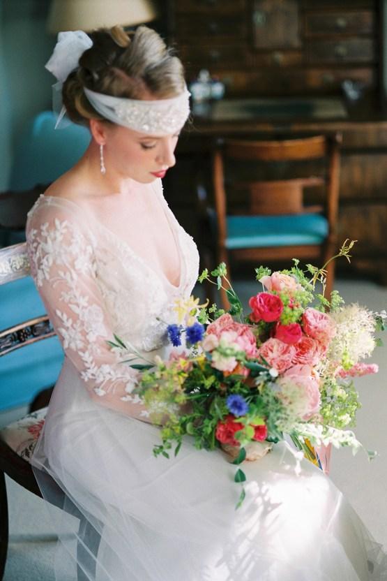Glamorous Downton Abbey Wedding Inspiration – Cooper Photography 33