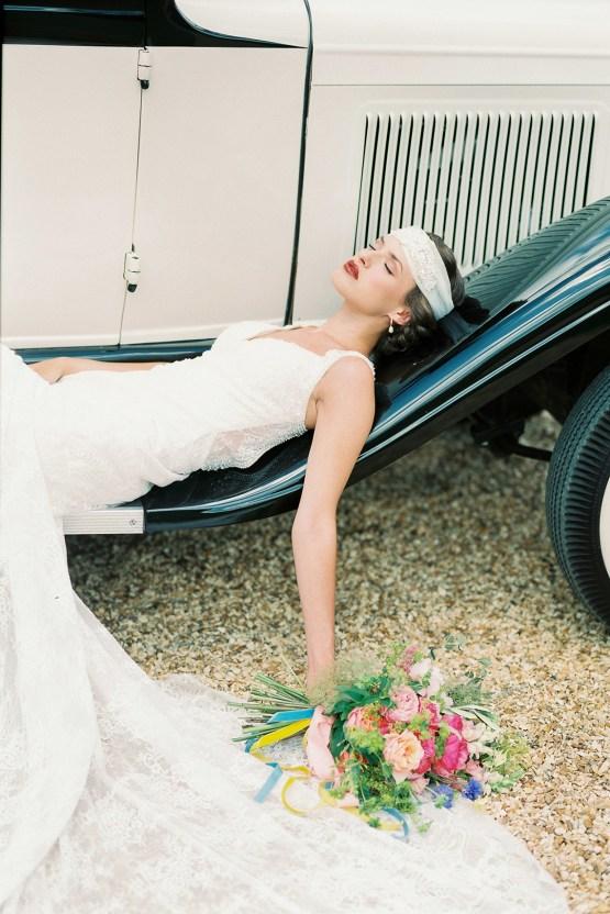 Glamorous Downton Abbey Wedding Inspiration – Cooper Photography 42
