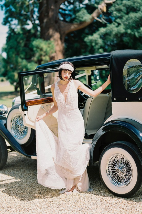 Glamorous Downton Abbey Wedding Inspiration – Cooper Photography 45