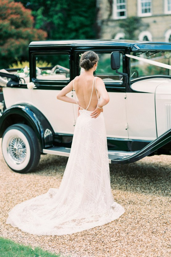 Glamorous Downton Abbey Wedding Inspiration – Cooper Photography 47