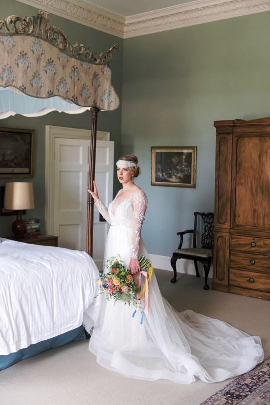 Glamorous Downton Abbey Wedding Inspiration – Cooper Photography 8