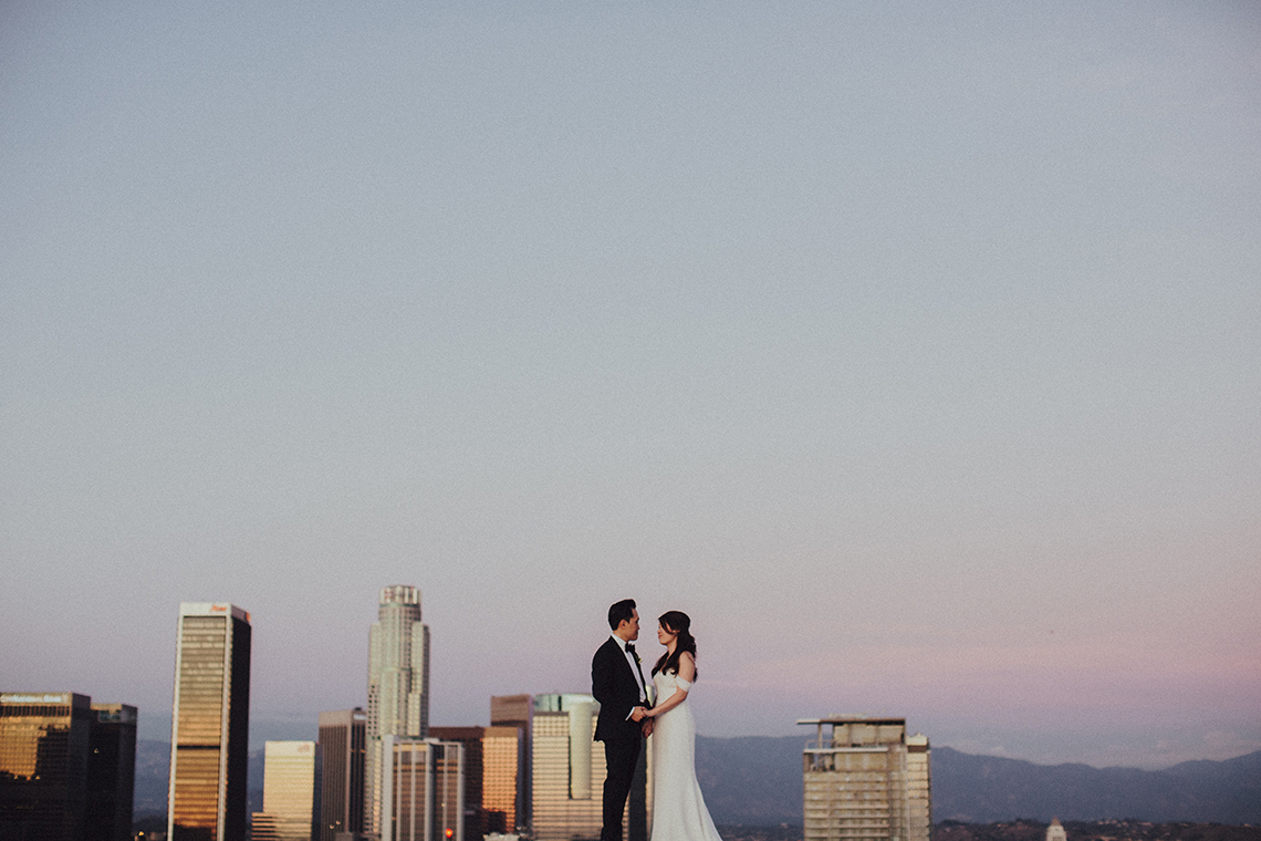 Los Angeles Rooftop Wedding with Incredible Views – Tyler Branch – CCL Weddings and Events 15