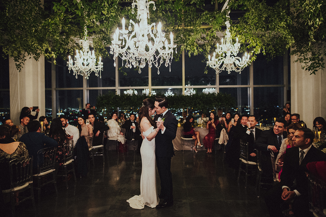 Los Angeles Rooftop Wedding with Incredible Views – Tyler Branch – CCL Weddings and Events 17