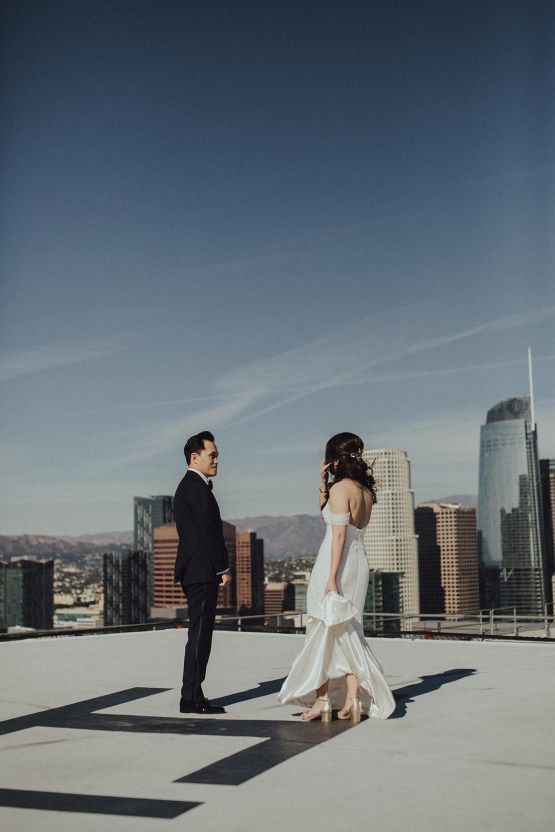 Los Angeles Rooftop Wedding with Incredible Views – Tyler Branch – CCL Weddings and Events 21