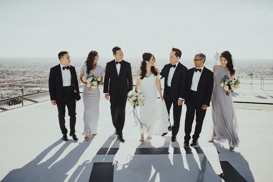 Los Angeles Rooftop Wedding with Incredible Views – Tyler Branch – CCL Weddings and Events 4