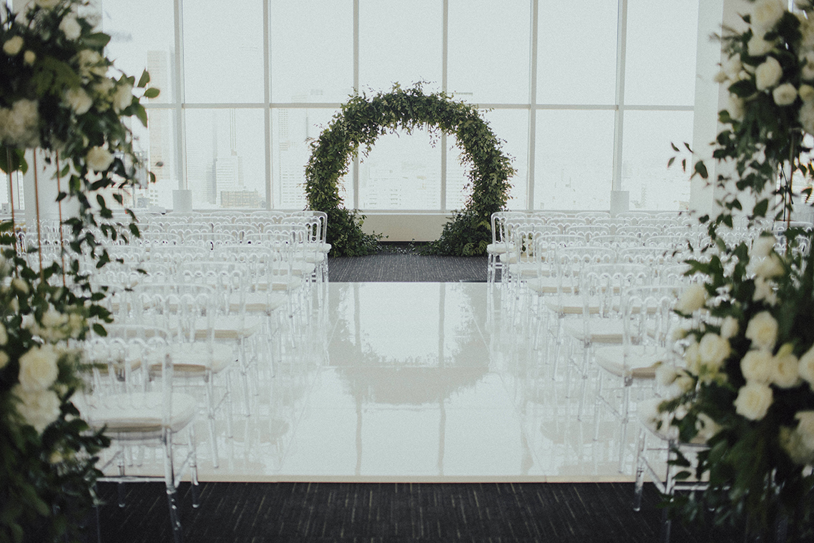 Los Angeles Rooftop Wedding with Incredible Views – Tyler Branch – CCL Weddings and Events 5