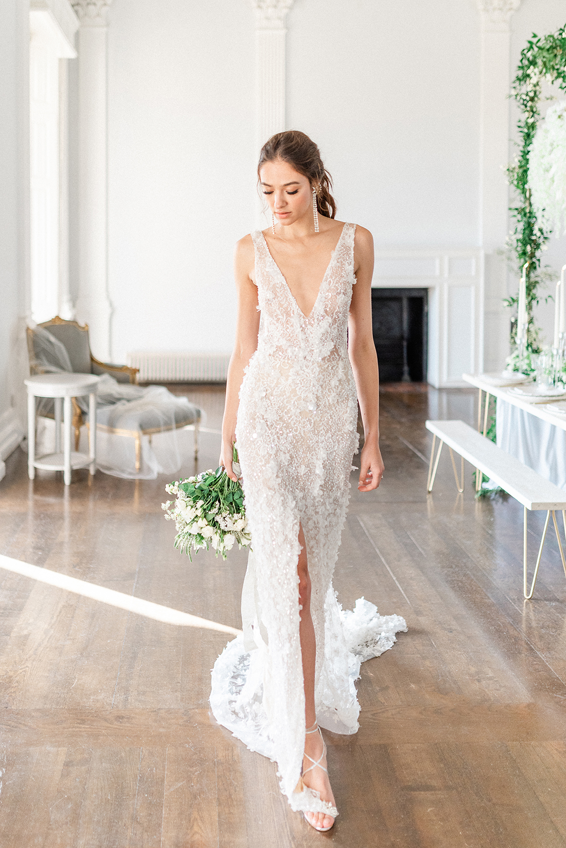 Luxurious and Opulent Wedding Inspiration Featuring Six Stunning Dresses – Gianluca and Mary Adovasio – Tigerlily Weddings 46