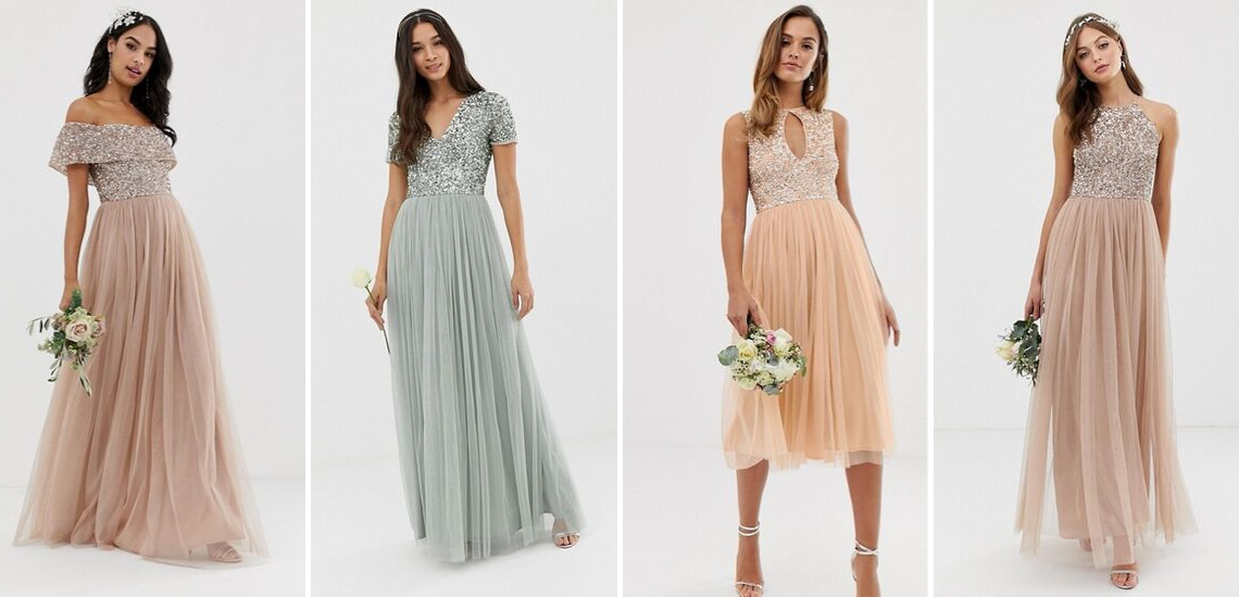 The Best Websites to Buy Bridesmaid Dresses Online – ASOS Maya Sparkling Dress 2