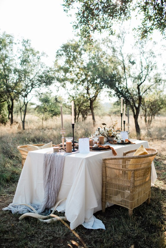 Ultra-Stylish Wedding Inspiration From The South African Bush – Nina Wernicke 27