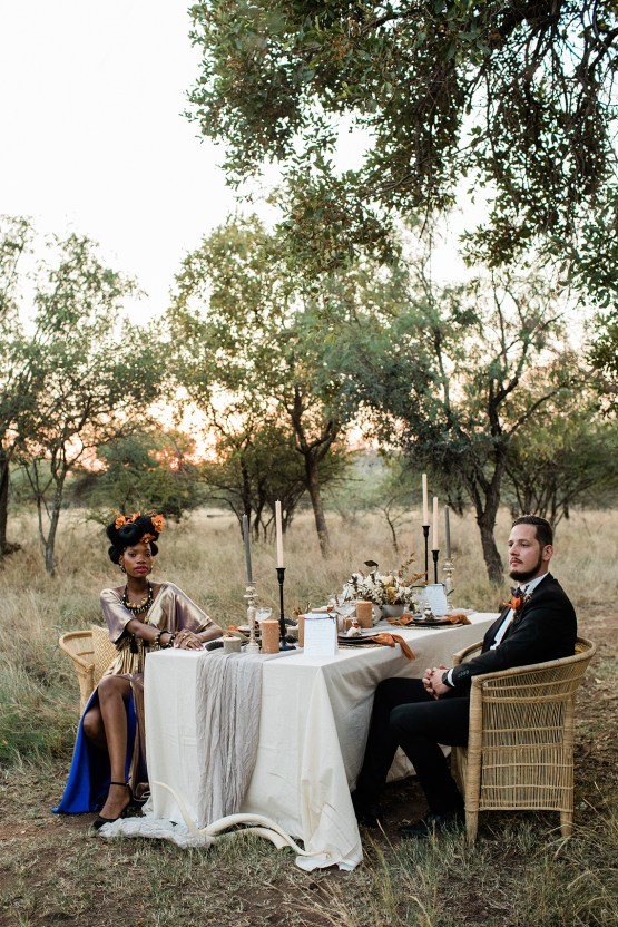 Ultra-Stylish Wedding Inspiration From The South African Bush – Nina Wernicke 40