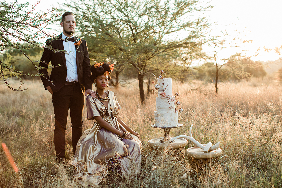 Ultra-Stylish Wedding Inspiration From The South African Bush – Nina Wernicke 47