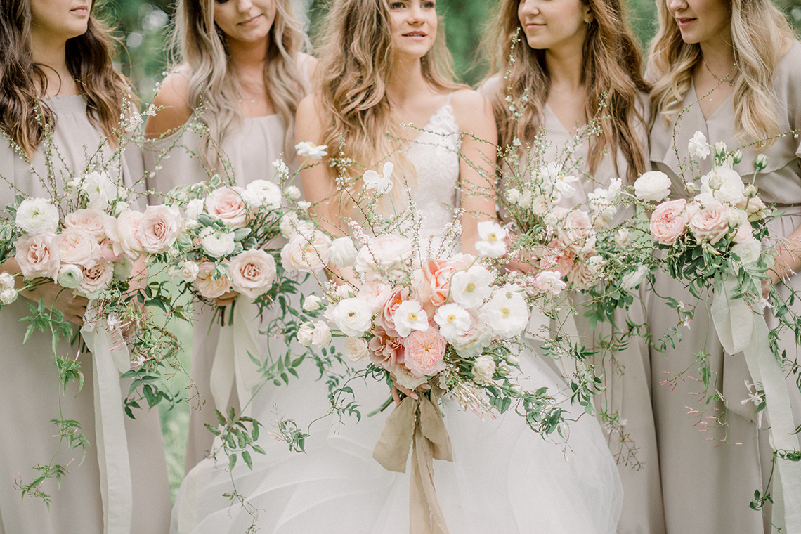 Whimsical Floral-Filled Woodland Wedding – Walnut and Main – Irina Turkova Photography 41