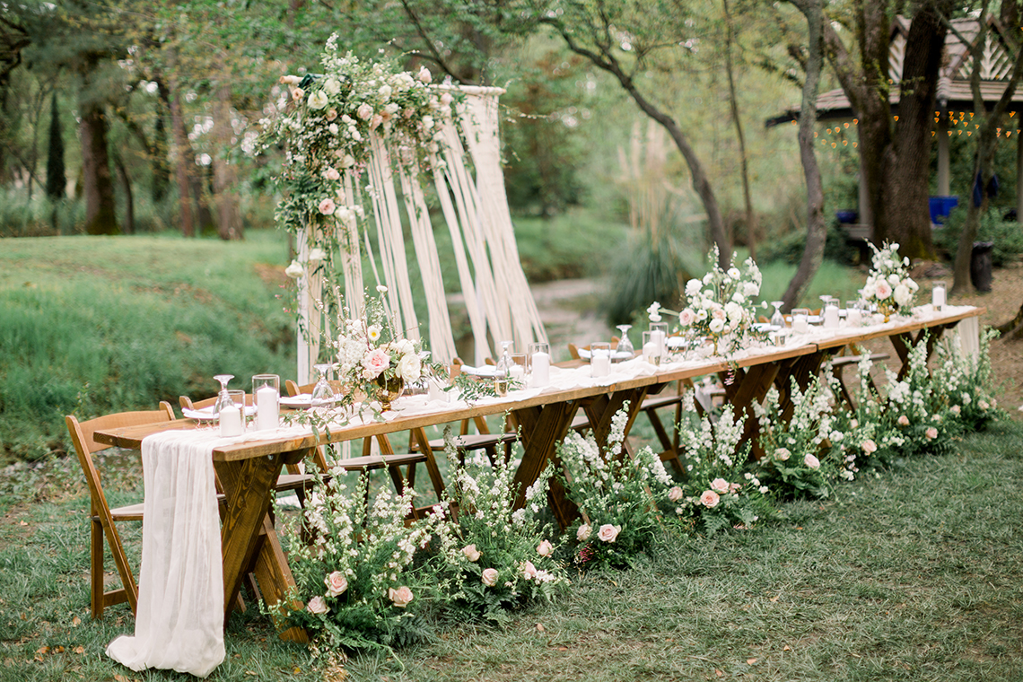 Whimsical Floral-Filled Woodland Wedding – Walnut and Main – Irina Turkova Photography 56