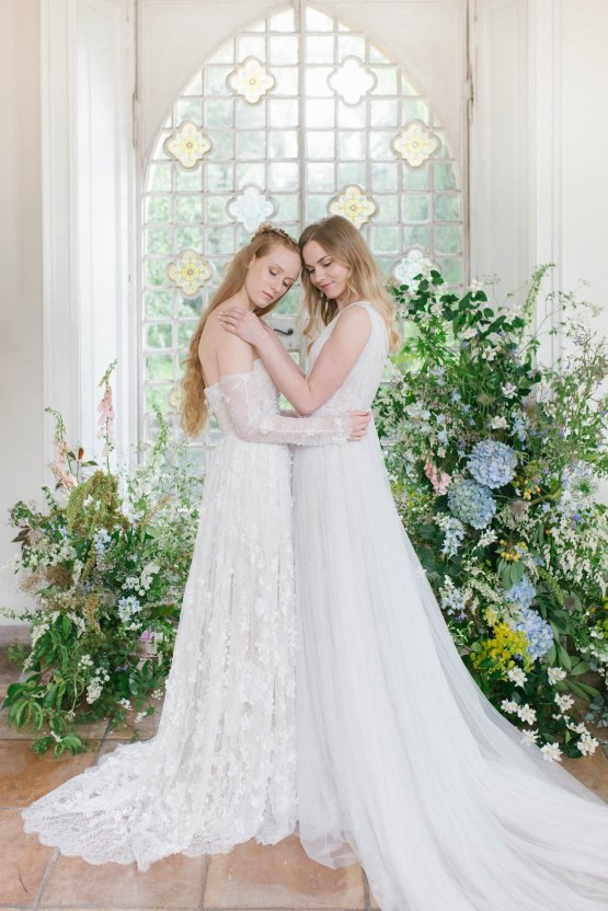 Artistic Renaissance Botticelli Same Sex Wedding Inspiration – Irene Fucci 36