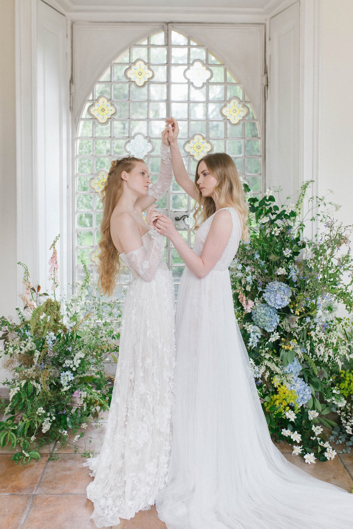 Artistic Renaissance Botticelli Same Sex Wedding Inspiration – Irene Fucci 37