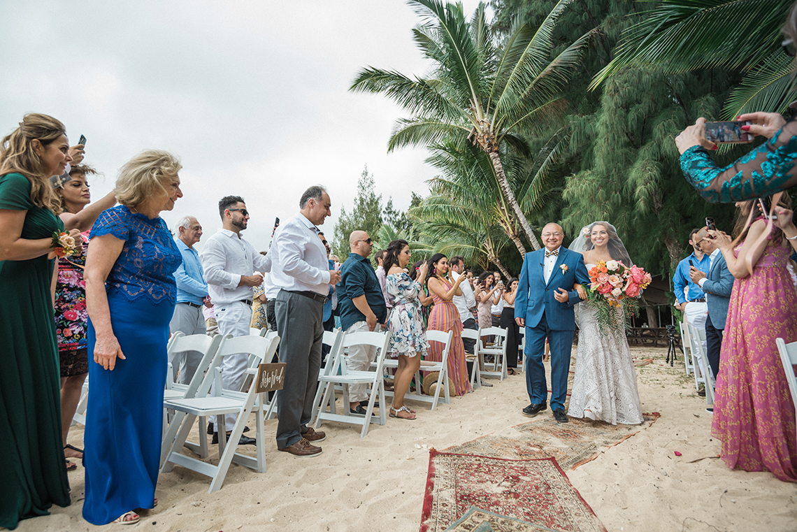 Breathtaking Cultural Polynesian Wedding on the Beaches of Hawaii – Joseph Esser 6