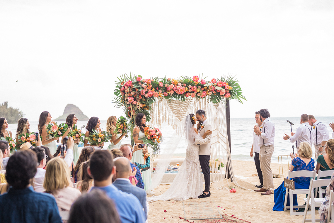 Breathtaking Cultural Polynesian Wedding on the Beaches of Hawaii – Joseph Esser 8