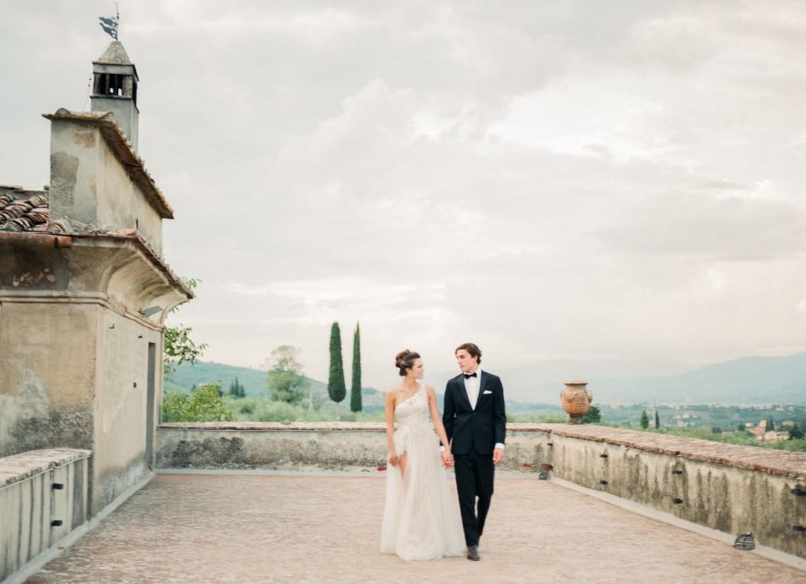 Breathtaking Tuscan Fine Art Wedding Inspiration – Olga Makarova 1