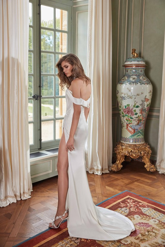 Galia Lahav Fancy White 2020 Wedding Dress Collection – Anna