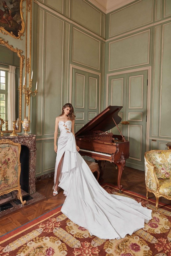 Galia Lahav Fancy White 2020 Wedding Dress Collection – Margaret 1