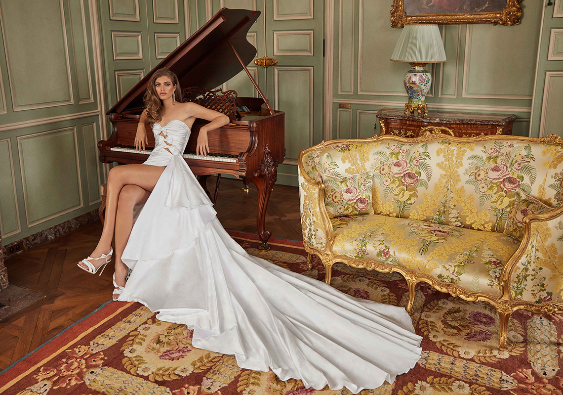 Galia Lahav Fancy White 2020 Wedding Dress Collection – Margaret 2