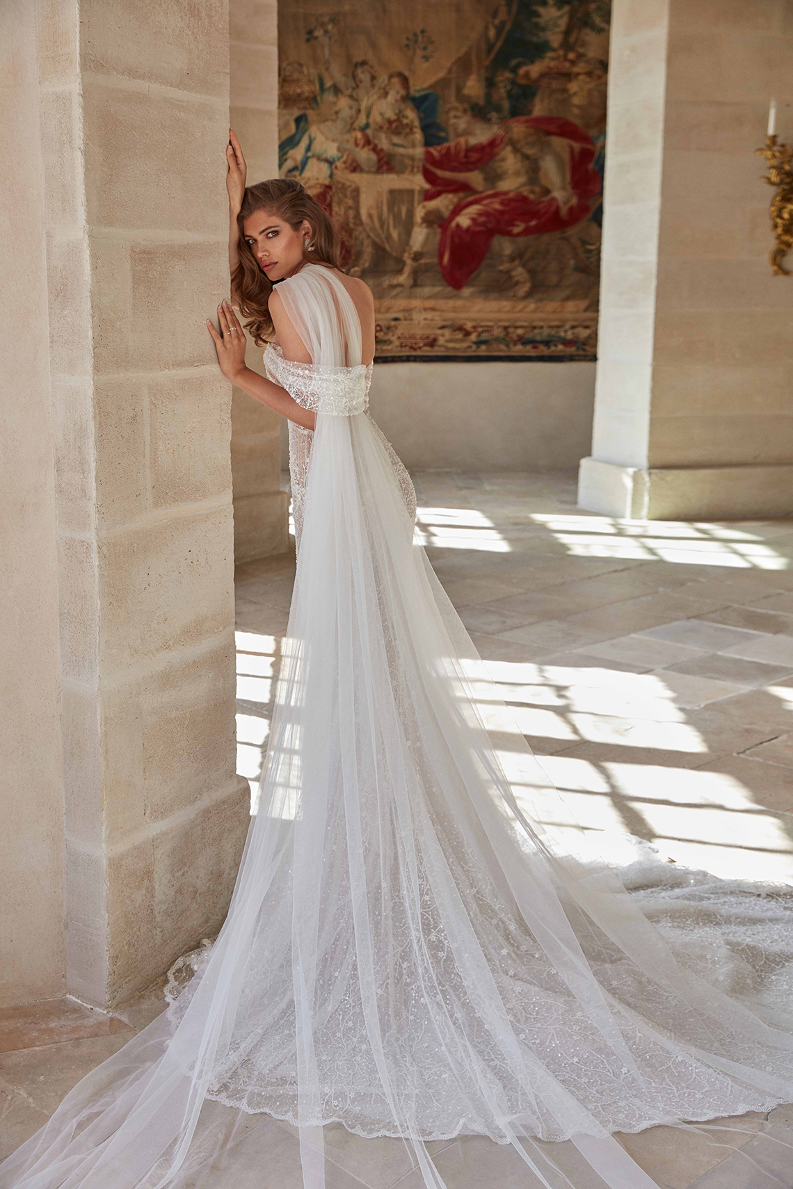 Galia Lahav Fancy White 2020 Wedding Dress Collection – Simone 2