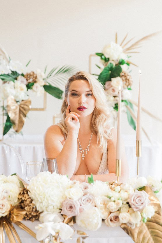 Glamorous Art Deco Wedding Inspiration with Gold Details – Maxeen Kim Photography 31
