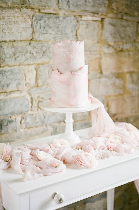 Pretty Pink Almonry Barn Wedding Inspiration – Liz Baker Photography 42