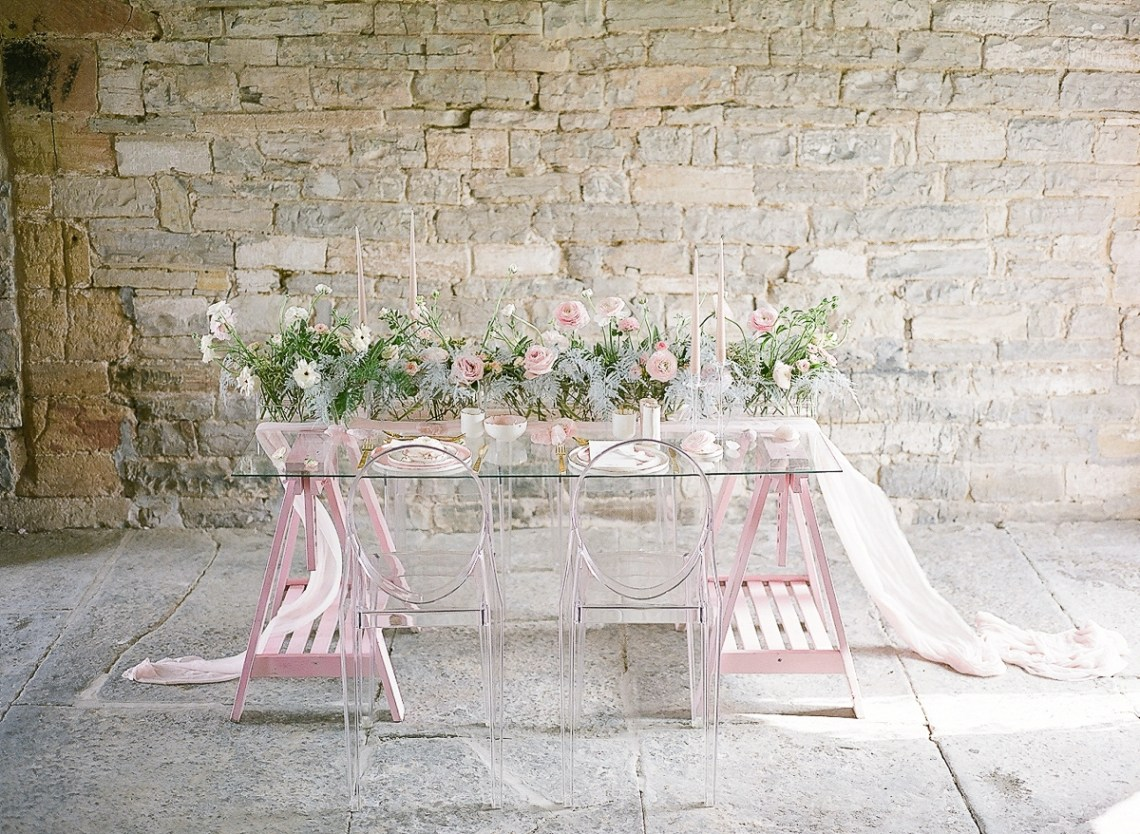 Pretty Pink Almonry Barn Wedding Inspiration – Liz Baker Photography 46