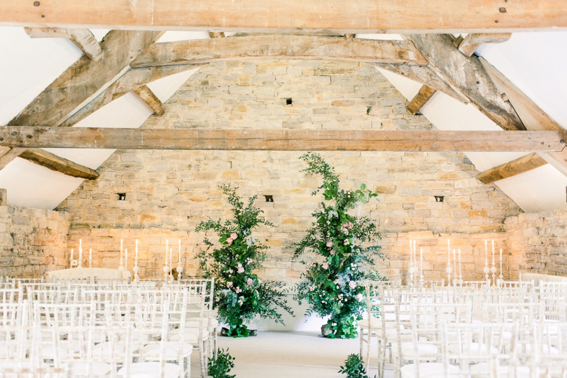 Pretty Pink Almonry Barn Wedding Inspiration – Liz Baker Photography 7
