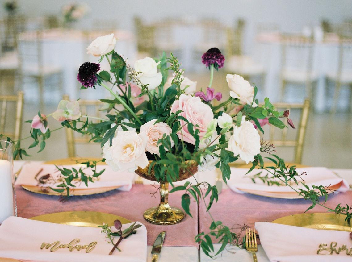 Pretty Texas Garden Wedding With A Blush Pink Wedding Dress – Deven Ashley 1
