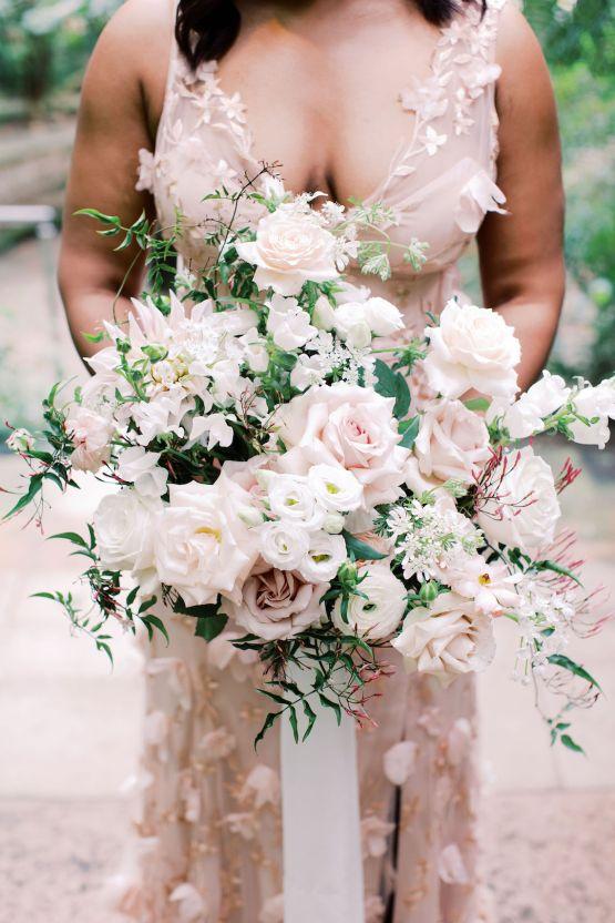 Pretty Texas Garden Wedding With A Blush Pink Wedding Dress – Deven Ashley 18