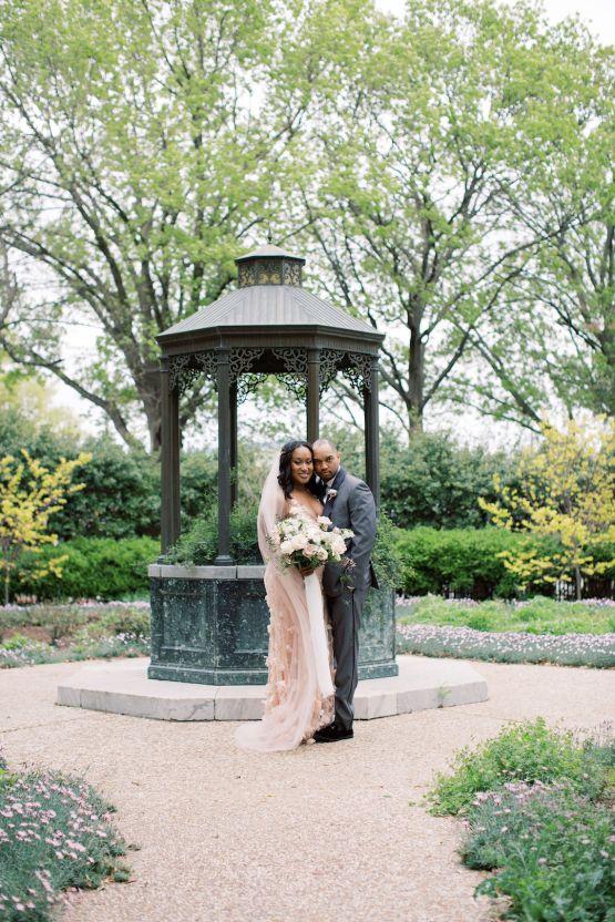 Pretty Texas Garden Wedding With A Blush Pink Wedding Dress – Deven Ashley 29